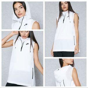 🆕Nike Tech Hypermesh Hood Windbreaker Vest Size M